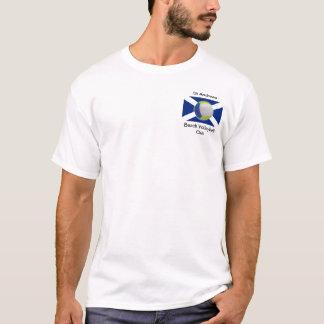 Camiseta T-shirt adulto branco com logotipo de StABVC
