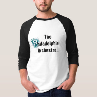 Camiseta T-shirt adulto da orquestra de Philadelphfia da