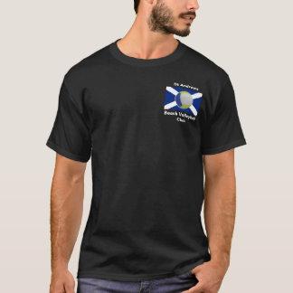 Camiseta T-shirt adulto escuro com logotipo de StABVC