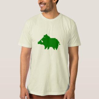 Camiseta T-Shirt Adulto Homem - Biológico - Javali das Arde