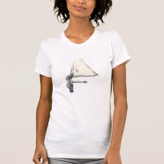 Camiseta T-shirt aéreo da ioga