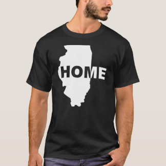 Camiseta T-shirt afastado Home de Illinois