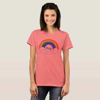 Camiseta T-shirt afiado Peachy do orgulho do arco-íris
