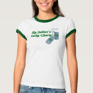 Camiseta T-shirt afortunado da campainha do encanto do meu