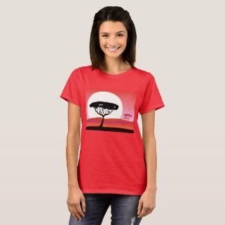 Camiseta T-shirt África do verão do viagem