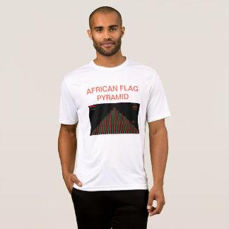 Camiseta T-shirt AFRICANO da PIRÂMIDE da BANDEIRA