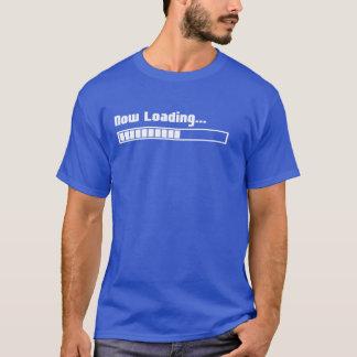 Camiseta T-shirt agora de carregamento