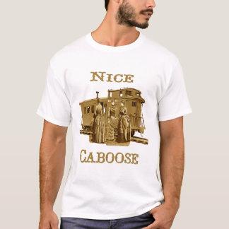 Camiseta T-shirt agradável do Caboose