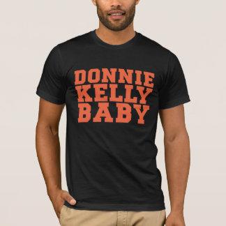 Camiseta T-shirt alaranjado e preto de DKB do basebol