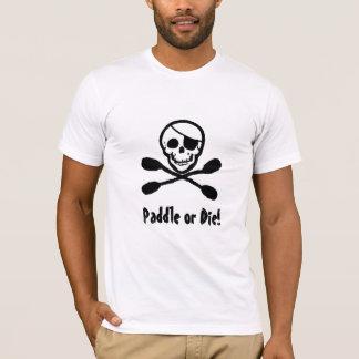 Camiseta T-shirt alegre de Roger do pirata do caiaque