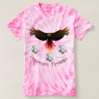 Camiseta T-shirt alemão da Laço-Tintura das senhoras de