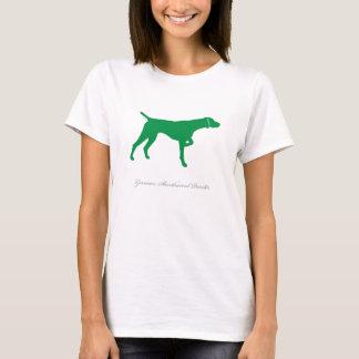 Camiseta T-shirt alemão do ponteiro de cabelos curtos (v2