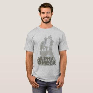Camiseta T-shirt alfa de Menen da imperatriz de Omega Haile
