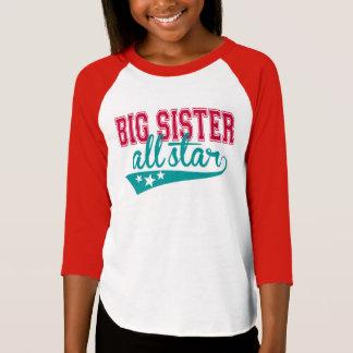 Camiseta T-shirt All-star da irmã mais velha desportiva