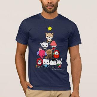 Camiseta T-shirt - AllCharacters - árvore do feriado