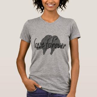Camiseta T-shirt alternativo do pescoço de grupo do roupa