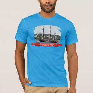 Camiseta T-shirt alto da foto do navio da recompensa do HMS
