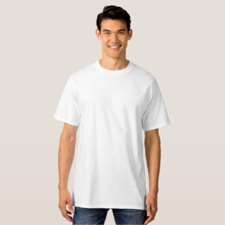 Camiseta T-shirt alto do Hanes dos homens