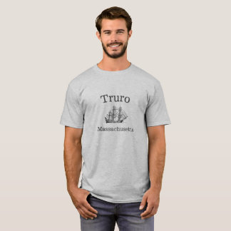 Camiseta T-shirt alto do navio de Truro Massachusetts