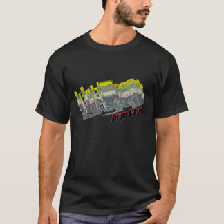 """Camiseta T-shirt alto dos homens da ordem da """"invasão"""""""