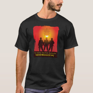 Camiseta T-shirt altos eretos do dia da relembrança