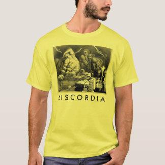 Camiseta T-shirt amarelo de Discordia