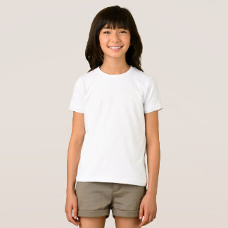 Camiseta T-shirt americano básico do roupa das meninas