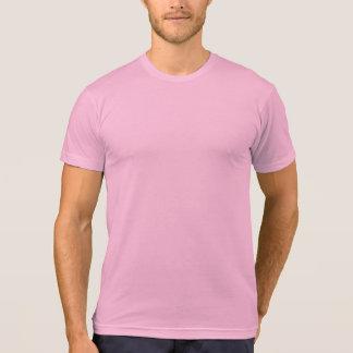 Camiseta T-shirt americano da mistura do Poli-Algodão do
