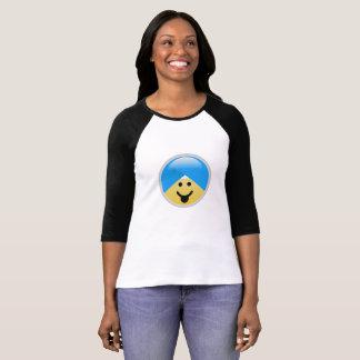 Camiseta T-shirt americano de Emoji do turbante da língua