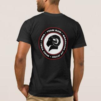 Camiseta T-shirt americano de RAM do roupa do ajustado