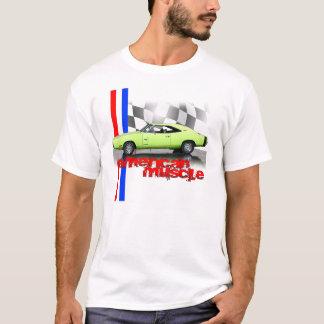Camiseta T-shirt americano do carregador do músculo