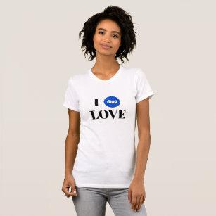 Camiseta T-shirt americano do jérsei da multa do roupa do