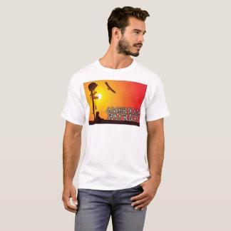 Camiseta T-shirt americano do patriota