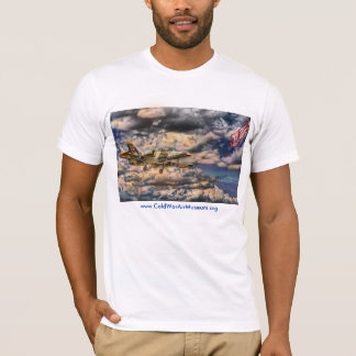 Camiseta T-shirt americano do roupa (cabido)