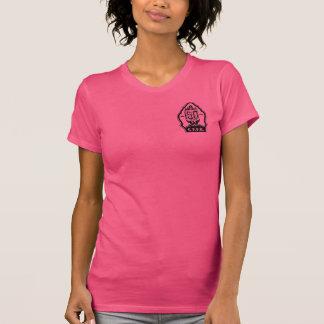 Camiseta T-shirt americano do roupa das mulheres de SFFD