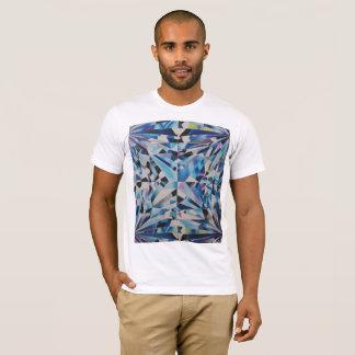 Camiseta T-shirt americano do roupa do diamante dos homens