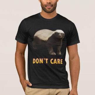 Camiseta T-shirt americano do roupa do texugo de mel