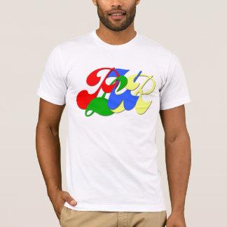 Camiseta T-shirt americano do roupa dos homens de PLUR