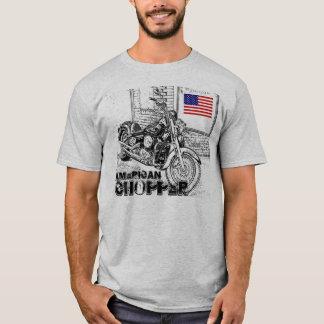 Camiseta T-shirt americano dos interruptores inversores