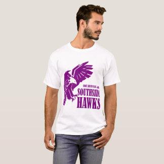 Camiseta T-shirt americano - Southside Hawks o logotipo