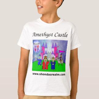 Camiseta T-shirt Amethyst do castelo do reino de Shonda