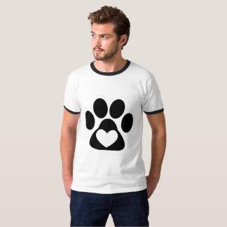 Camiseta T-shirt - amor afortunado
