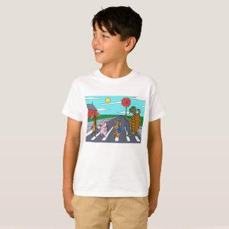 Camiseta T-shirt animal 3 da faixa de travessia