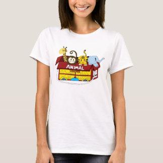 Camiseta T-shirt animal da boneca dos biscoitos