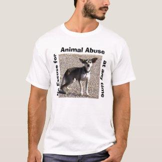 Camiseta T-shirt animal do abuso