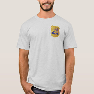 Camiseta T-shirt animal do herói
