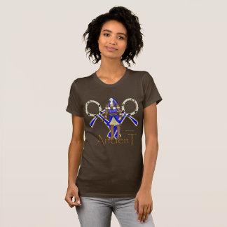 Camiseta T-shirt antigo do jérsei das senhoras de Thoth