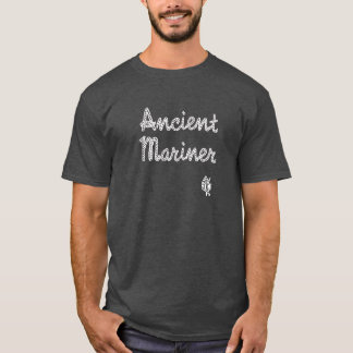 Camiseta T-shirt antigo duvidoso do marinheiro do navegador