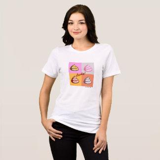 Camiseta T-shirt apto relaxado Poo afortunado do jérsei