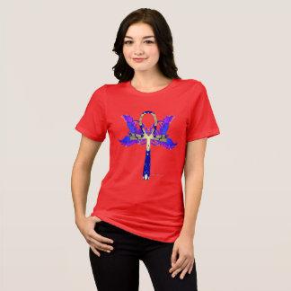 Camiseta T-shirt apto relaxado senhoras de Ankh Phoenix